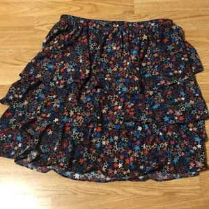 Fun JCrew flounced skirt